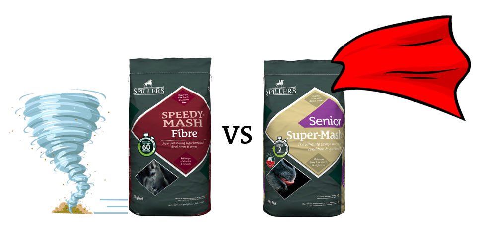 Speedy mash vs Super Mash