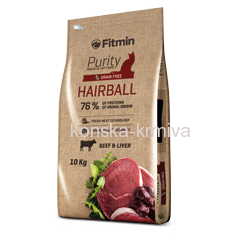 FITMIN CAT PURITY HAIRBALL - 1,8 KG