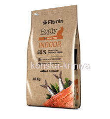 FITMIN CAT PURITY INDOOR - 10 KG