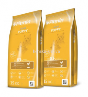 FITMIN DOG MINI PUPPY 15 KG 2x