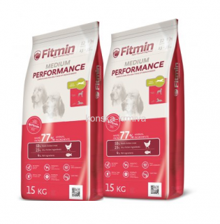 FITMIN DOG MEDIUM PERFORMANCE 15 KG 2x