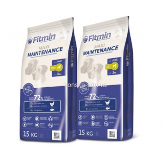 FITMIN DOG MAXI MAINTENANCE 15 KG 2x
