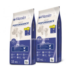 FITMIN DOG MAXI PERFORMANCE 15 KG 2x