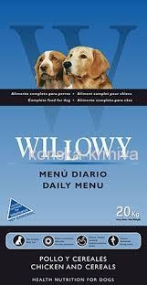Willowy Daily Menu 20 kg
